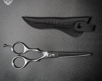 Beard Scissors, Hair Scissors, Fathers Day Gift, Barber Scissors, Mens Grooming Tools, Steel Scissors, Beard Care Product, Husband Gift