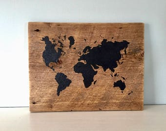 Barn wood world map etsy gumiabroncs Image collections