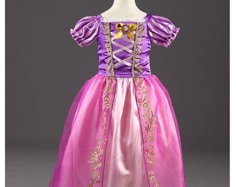 Princess dress, sophia, pink and purple costume child