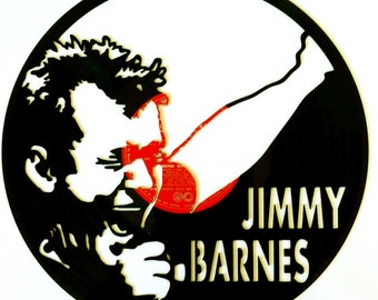 Jimmy Barnes - Vinyl Record Art