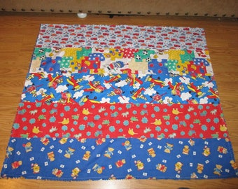 Toddler Boy Quilt -- Handmade -- OOAK -- sale
