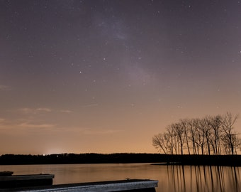 A Dock and the Stars