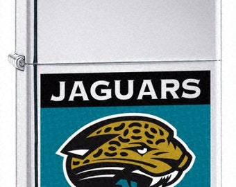 Rare Retired Jacksonville Jaguars Zippo Lighter