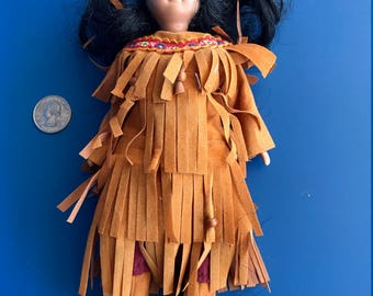 Doll Depicting Native American