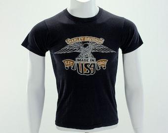 1970's Harley Davidson T-Shirt S M