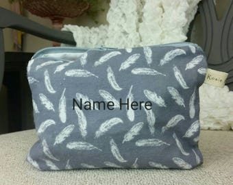 Feather Toiletry Bag