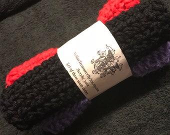 3 Crocheted Wash Cloths