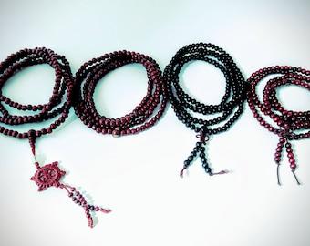 Beaded Mala Necklace! Mala Beads. Prayer Beads. Meditation Beads. Yoga Bracelet. Chakra Beads. Mala Necklace. Mala Bracelet. Mala for Men.