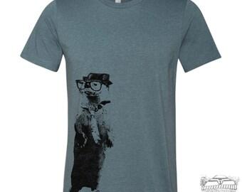 Men's River OTTER t shirt s m l xl xxl (+ Color Options) custom