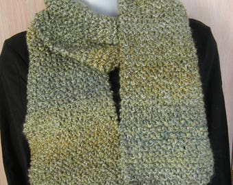 Hand Knitted Scarf-Meadow