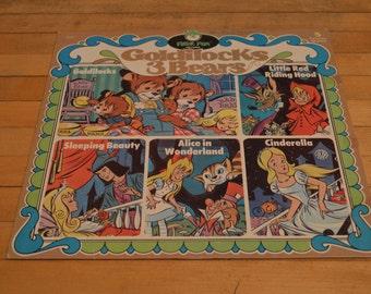 Peter Pan Records 5 Favorite Stories LP Vinyl Record