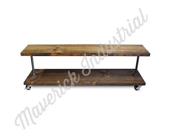 Industrial Shoe Rack - Entry Way Shelf - Mud Room Shoe Storage - Furniture