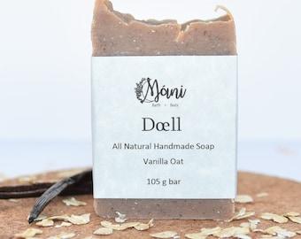 All Natural Handmade Vanilla Oat Soap