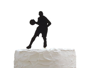 Basketball Cake Topper, Birthday Party Decoration, Basketball Theme Party Decor