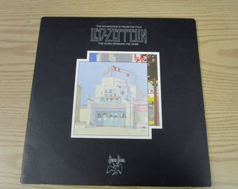 Led Zeppelin / The Song Remains the Same / Soundtrack / Vinyl LP / Swan Song / SS2 201
