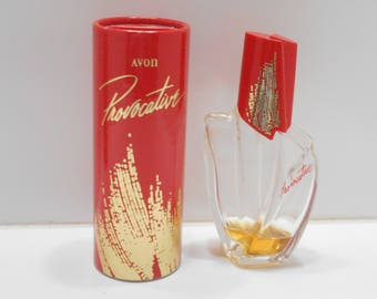 Vintage Avon Provocative Cologne & Perfumed Talc (32) Pre-owned And Used