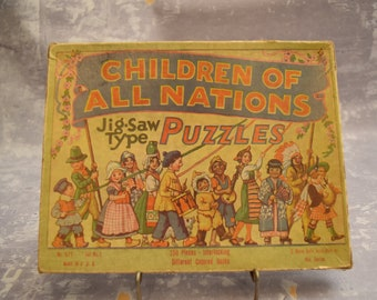 Children of All Nations Puzzle