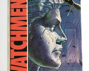 Watchman #2 (First Print, 1986, VF/NM, Alan Moore)