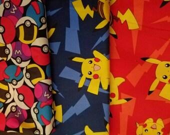 Pokemon inspired Collection hair bow/ boys bow tie/ dog bow tie/ pet bandana