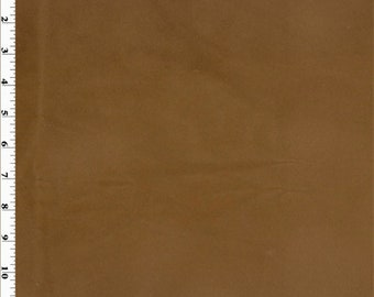 Chestnut Brown Faux Suede Home Decorating Fabric, Fabric By The Yard