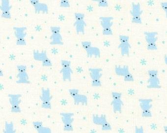 Minny Muu '16 Blue Bears 40672-10 by Lecien Cotton Fabric Yardage