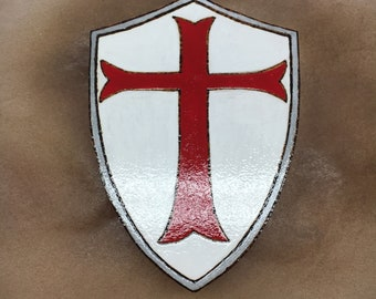 Handcrafted Templar Shield