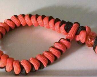 Beaded snake knot