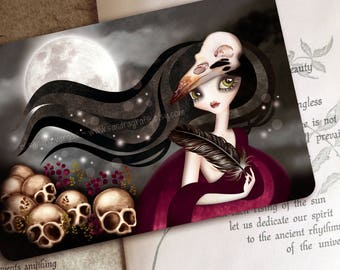 The Witching Hour - Limited Edition Postcard - Postcrossing, Snail Mail