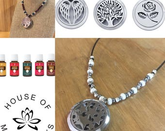 Beaded Aromatherapy Locket Class ~ Wednesday May 2, 2018 6-8PM