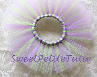 Newborn tutu set, Preemie tutu set, 0-3 Month Tutu set, Light Purple and Mint Green Tutu set, baby shower gift, photo prop