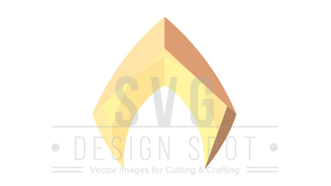 Aquaman Logo SVG File Aqua Man Logo SVG Wall Art Aquaman