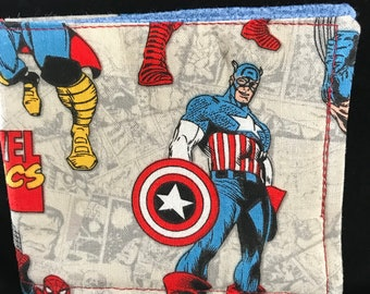 Child's Wallet - Captain America & Marvel Comics (Flawed)