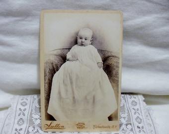 Cabinet Card: Infant, 3 Months Old