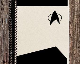 Star Trek uniforme cahier - Journal de Star Trek pour ordinateur portable - idées de cadeau de Star Trek - Star Trek