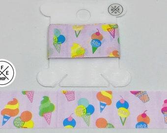"""Washi Tape Sample 24""""   Ice Cream Cones   Scented"""