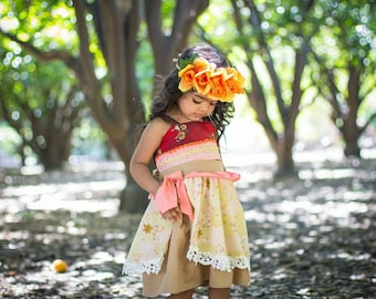 Moana birthday costume, Moana dress, Moana costume, Moana costume kids, Moana birthday, Moana birthday party, Moana outfit, princess Moana