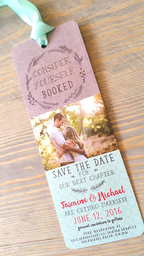 bookmark save the date bookmark save the