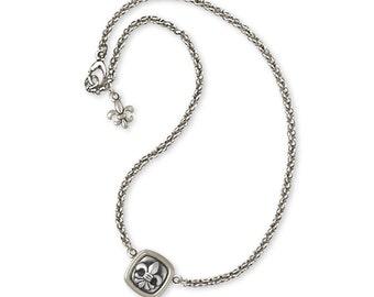 Fleur De Lis Bracelet Jewelry Sterling Silver Handmade Flower Bracelet FD7-B