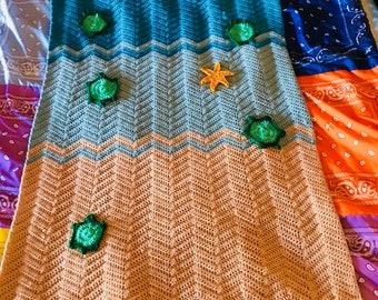 Crochet Under The Sea Afghan