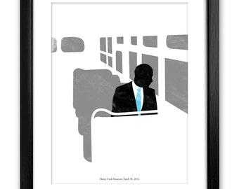 44. Rosa. Commemorative Obama Poster