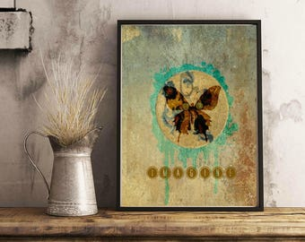 Imagine Butterfly 8.5X11 (DOWNLOADABLE print)