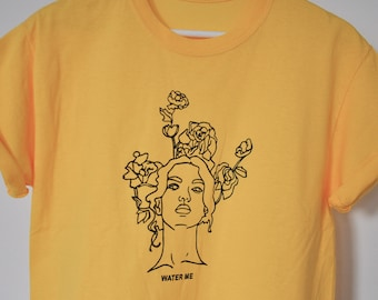 Yellow water me T-shirt