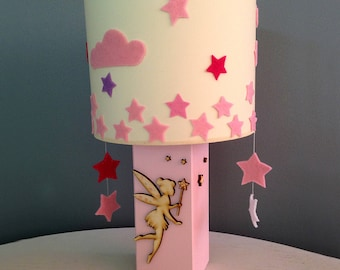Fairytales / Portable kids lighting / Girl's room / Handmade