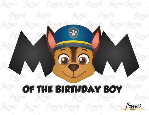 Paw Patrol Thanksgiving Coloring Pages To Print : Chase paw patrol mom of the birthday boy paw patrol diy