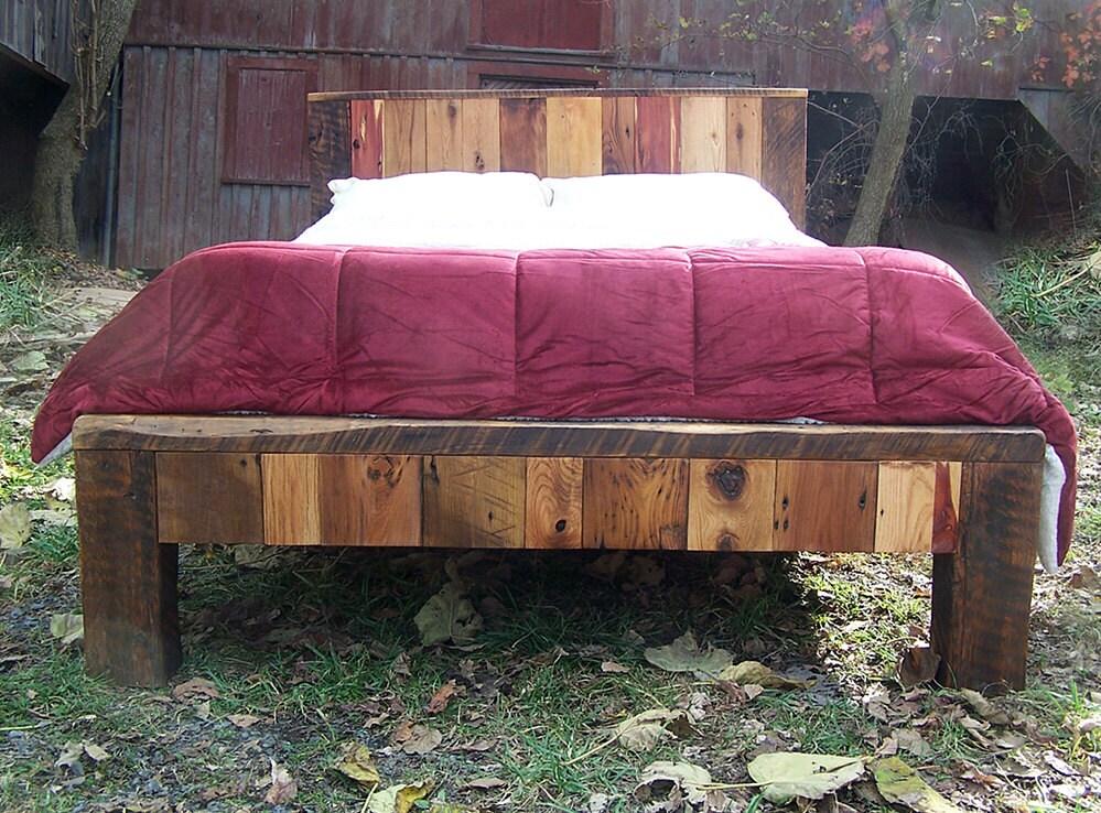 zoom - Wooden Bed Frames Queen