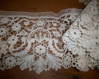 Antique hand done lace beautiful