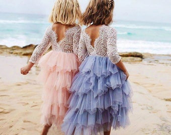Lace Tulle Dress (long)