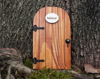 Fairy Door fairy garden miniature wood believe