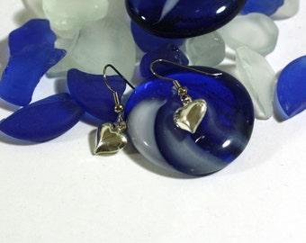 Little Bubble Heart Charm Earrings Kids Light Weight Jewelry Valentines Earrings - teens jewelry - simple heart earrings 925 sterling silver