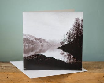 Greetings Card - The Five Sisters, Scotland - Landscape